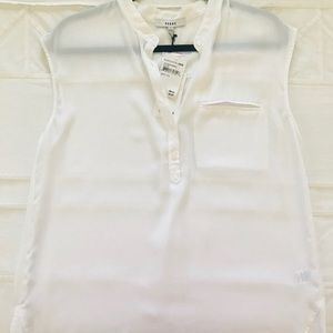 Perfect White Sheer Blouse!